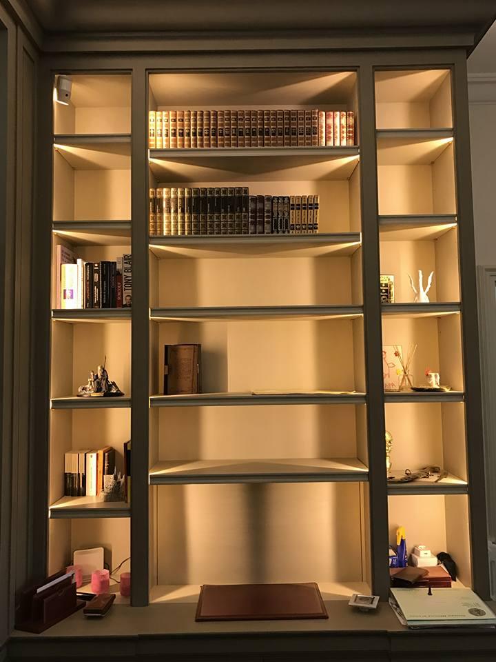 DS Elec Bibliothèque Eclairage Led